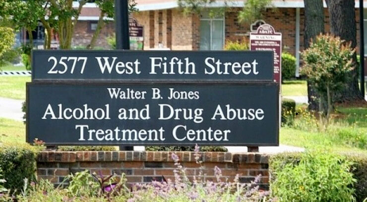 Walter B Jones Alcohol and Drug Abuse Treatment Center in Greenville, 27834